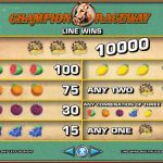 สล็อต แมชชีน เกม Champion Raceway